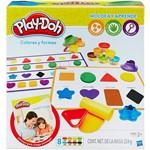 Conjunto Play-Doh Aprendendo Cores e Formas - Hasbro
