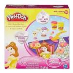 Conjunto Play-doh - Diversão Princesas Disney - Hora do Chá - Bela - Hasbro