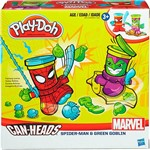 Conjunto Play-Doh Homem Aranha e Duende Verde - Hasbro