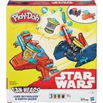 Conjunto Play-Doh Star Wars Veículo Luke Skywalker e Darth Vader - Hasbro