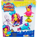 Conjunto Play-Doh Town Figura e Animal Hairdresser e Pet - Hasbro