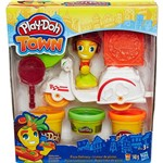 Conjunto Play-Doh Town Mini Veículo Pizza Delivery - Hasbro