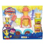 Conjunto Play DohTown Carro de Sorvete - Hasbro