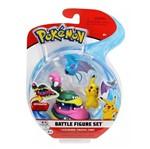 Conjunto Pokémon - Alolan Muk, Pikachu e Rockruff - DTC