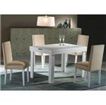 Conjunto Sala de Jantar com Mesa e 4 Cadeiras Maia