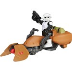 Conjunto Star Wars com Figura Scout Trooper e Speeder Bike - Hasbro