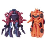 Conjunto Transformers - Robots In Disguise - Combiner Force - Saberhorn e Bisk - Hasbro
