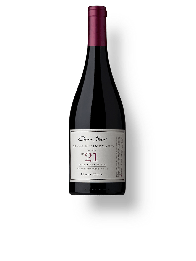 "Cono Sur Single Vineyard Pinot Noir Block 21 ""Viento Mar"""