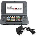 Console Nintendo New 3DS Xl - New Black + Carregador