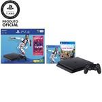 Console PlayStation 4 1TB Bundle com Game Fifa 19 - Sony + Game Far Cry New Dawn - PS4