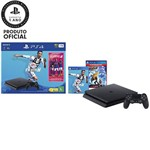 Console PlayStation 4 1TB Bundle com Game Fifa 19 - Sony + Game Ratchet And Clank Hits - PS4