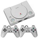 Console Playstation Classic Sony Scph-1000r com 20 Jogos Bivolt - Cinza
