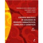 Controle Biologico de Qualidade de Produtos Farmaceuticos, Correlatos e Cosmeticos