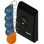 Controle de Acesso Rfid Lr300 Lider com 5 Chaveiros