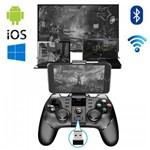 Controle Joystick Bluetooth Ipega Pg9076 Celular Pc Wireless 2 In 1