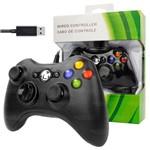 Controle Joystick Dual para Pc e Xbox 360 com Cabo de 2.5m - Xc-01