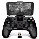 Controle Joystick Ipega 9076 Gamepad Bluetooth Wireless 2.4 Ghz para - Celular Tablet Android - Ps3 - Vr Box - Notebook
