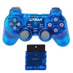 CONTROLE Joystick Play 2 Wireless Sem FIO AZUL - XD-1201