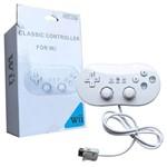 Controle Joystick Wii Classic para Nintendo Wii Wiiu Feir Fr-003 Branco