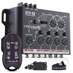 Controle Longa Distância Stetsom Sx2 Até 500 Mts + Crossover Stx52 Mesa Som