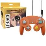 Controle Nintendo Game Cube Laranja