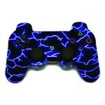 Controle para Playstation 3 Sem Fio Ps3 Preto e Azul