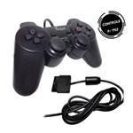 Controle para PS2 Playstation 2 Joystick Dualshock Analógico com Fio - Feir FR-211