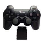 Controle Ps2 Sem Fio Feir FR-204 Wireless Playstation 2 Preto