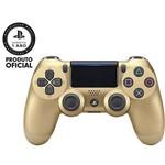 Controle Sem Fio para Playstation 4 Sony Dualshock 4 Recarregável - Dourado