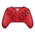 Controle Sem Fio para Xbox One S e X Microsoft - Vermelho