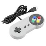 Controle Usb Super Nintendo - Famicom Colorido