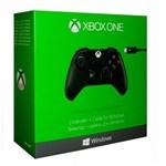 Controle Xbox One Sem Fio com Cabo para Pc Windows - Microsoft