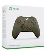 Controle Xbox One Slim Army Green Orange
