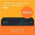 Conversor e Gravador Digital Hd Isdbt - Elsys