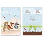 Convite Animais na Floresta C/8   Junco