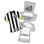 Convite Camisa Santos C/ 08 Unidades