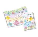 Convite Chá de Bebê Flores e Borboletas