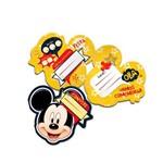 Convite de Aniversario Mickey Classico 08 Unidades Regina Festas