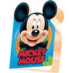 Convite de Aniversario Mickey Diversao R.79 C/08 Un Regina Festas Pct.c/12