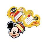 Convite G Mickey Clássico C/8
