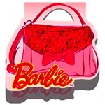 Convite Grande Barbie Core - 8 Unidades - Regina Festas