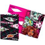 Convite Pequeno Monster High Kids 3 Idiomas - 8 Unidades - Regina Festas