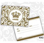 Convite Realeza - 08 Unidades