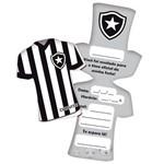 Convite Uniforme Botafogo C/ 08 Unidades