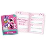 Convites de Aniversario Minnie Rosa R244 C/08un Pct.c/12 Regina Festas