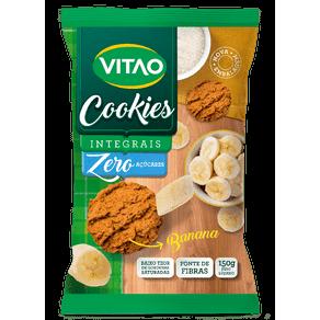 Cookies Integrais Zero Adição de Açúcares Banana 150g