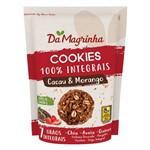 Cookies Integral 7 Grãos Cacau e Morango 150g - da Magrinha