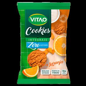 Cookies Integral Zero Açúcares Laranja 80g