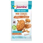 Cookies Mini Jasmine Amendoas e Castanha 35g