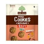 Cookies Orgânicos Diet Sabor Damasco e Castanhas Mãe Terra 120g